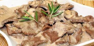 Bœuf aux champignons avec thermomix