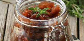 Chutney oignon facile au thermomix