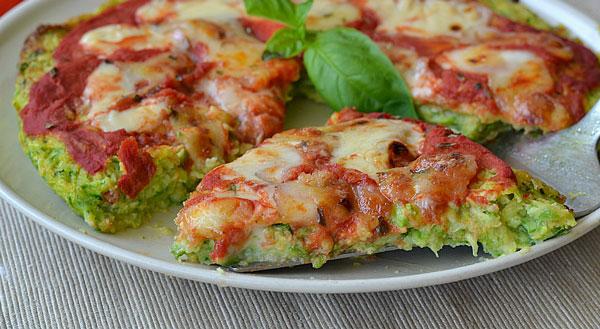 Pizza la p te de courgettes avec thermomix recette - Courgettes farcies thermomix ...