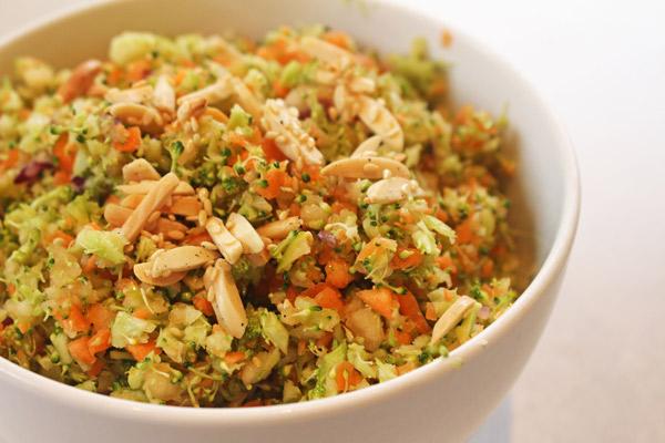 Salade de crudités au Thermomix
