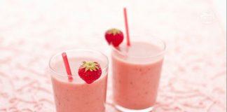 Smoothie vanille et fraises avec Thermomix