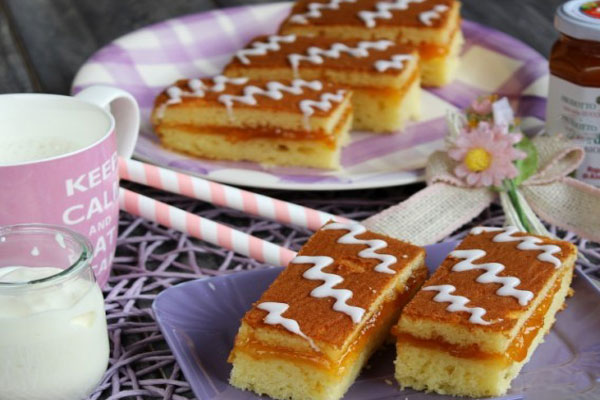 gâteau fourré express