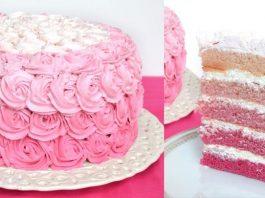 LAYER CAKE ROSE
