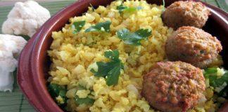 Riz de chou-fleur au curry Weight watchers