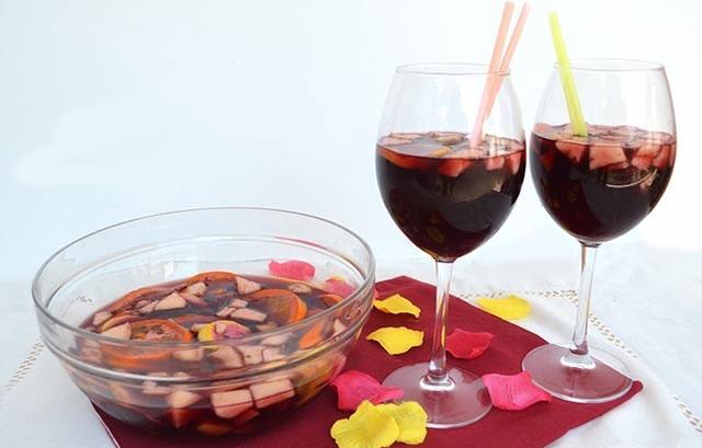 Cocktail sangria maison avec thermomix recette thermomix for Cocktail thermomix