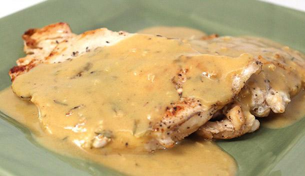 Escalope de poulet la moutarde weight watchers plat et - Plat cuisine weight watchers ...