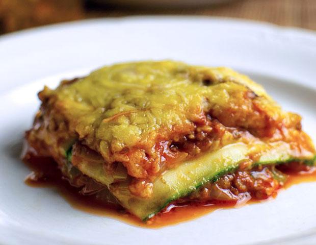 Lasagne de courgettes weight watchers recette weight - Plat cuisine weight watchers ...