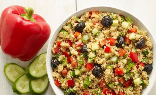 Salade healthy de quinoa recette l g re plat et recette - Plat cuisine weight watchers ...