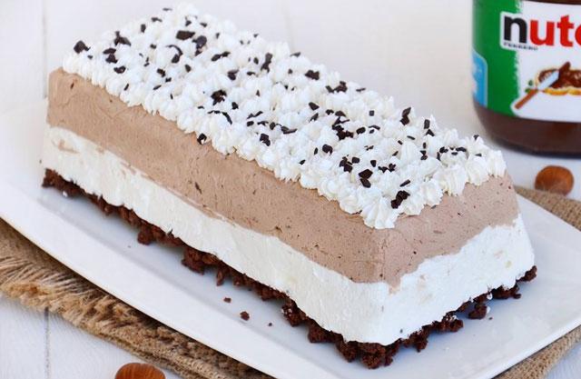 Buche de noel chocolat glace thermomix
