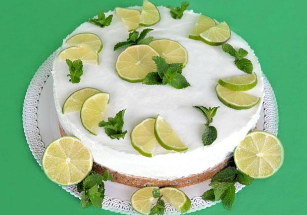 Cheesecake mojito avec thermomix plat et recette - Recette mojito thermomix ...