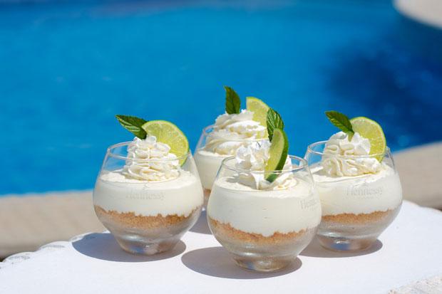 Cheesecake mojito en pots avec thermomix plat et recette - Recette mojito thermomix ...