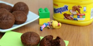 Muffins au Nesquik avec Thermomix