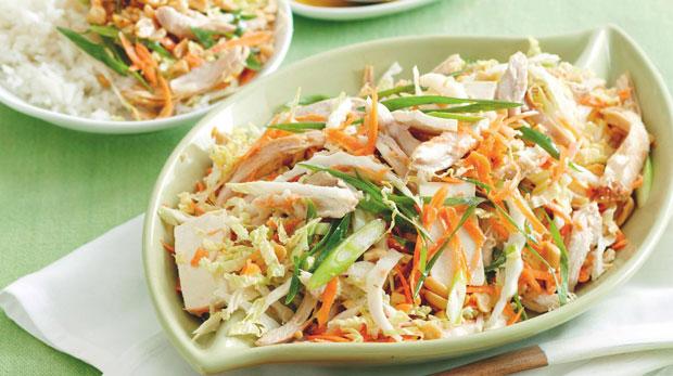 salade vietnamienne au poulet recette weight watchers. Black Bedroom Furniture Sets. Home Design Ideas