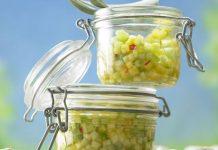 Salade d'ananas et concombre Weight Watchers