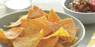 Chips nachos maison avec Thermomix