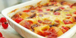 Clafoutis aux tomates cerises avec Thermomix