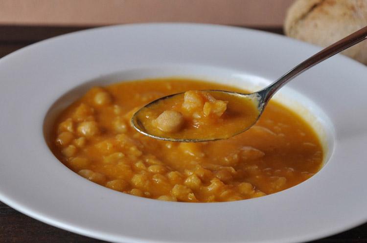 Soupe de pois chiches aux crevettes recette thermomix - Recette soupe thermomix ...