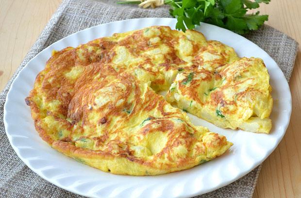Omelette au chou fleur l g re recettes l g res plat et - Plat cuisine weight watchers ...
