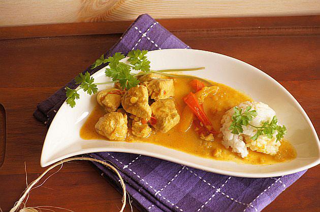 Poulet Au Curry Et Aux Lentilles Avec Thermomix Recette Thermomix