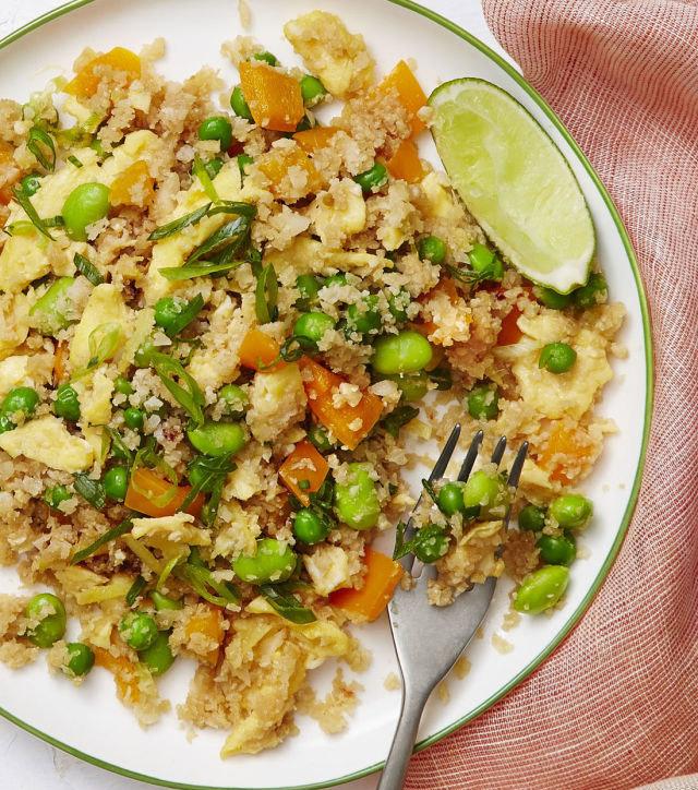 Salade de chou-fleur et légumes