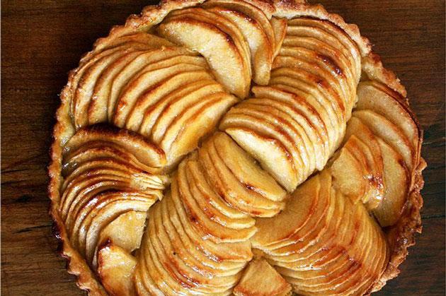 tarte aux pommes l g re recettes l g res plat et recette. Black Bedroom Furniture Sets. Home Design Ideas
