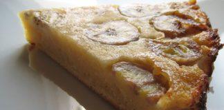 Gâteau invisible à la banane Weight Watchers