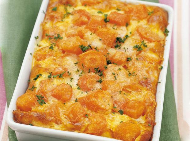 Gratin de carottes l ger recettes l g res plat et recette - Plat facile et leger ...