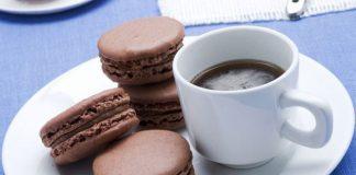 Macarons au chocolat noir inratables avec Thermomix
