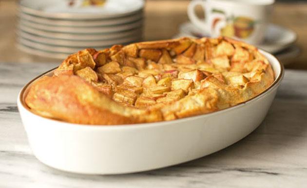 Clafoutis aux pommes et la cannelle l ger plat et recette - Plat cuisine weight watchers ...