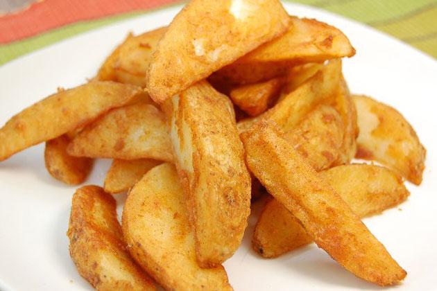 Frites épicées sans huile Weight Watchers