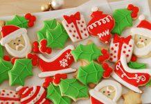 Sablés de Noël décorés au glaçage au Thermomix