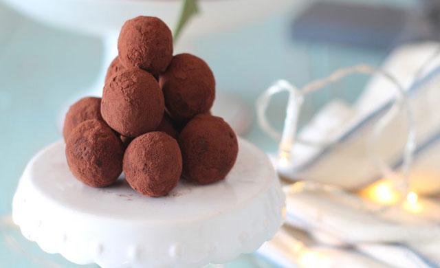Truffes au chocolat avec thermomix recette thermomix for A table avec thermomix