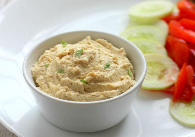 Houmous l ger recettes l g res plat et recette - Plat cuisine weight watchers ...
