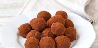 Truffes au chocolat légères Weight Watchers