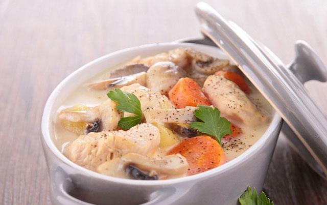 Blanquette de veau l 39 ancienne au thermomix recette - Recette de cuisine blanquette de veau ...