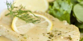 filets de poisson à la sauce au citron au Thermomix