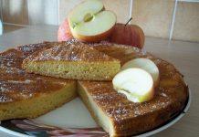 Gâteau aux pommes sans matière grasse Weight Watchers