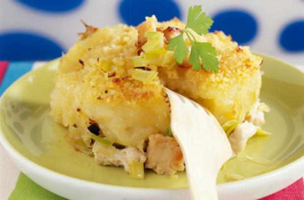 Hachis parmentier de poulet l ger recettes l g res plat et recette - Plat facile et leger ...