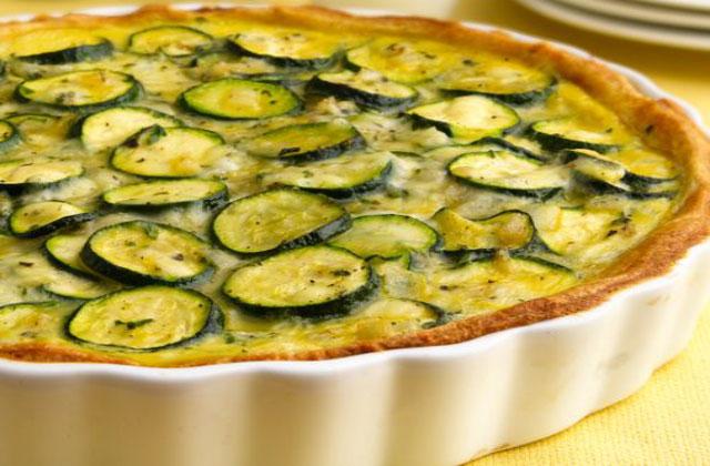 Tarte sans p te aux courgettes l g re recettes l g res plat et recette - Cuisine legere thermomix ...