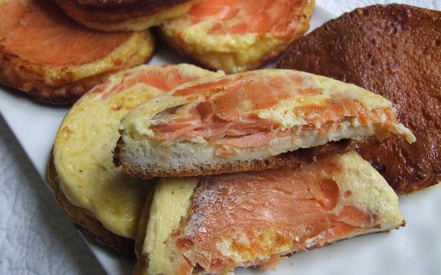 Croque quiche l ger au saumon ww plat et recette - Plat facile et leger ...
