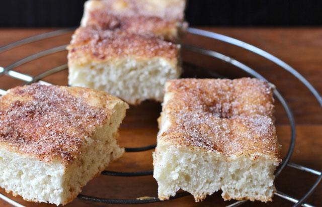 tarte au sucre briochée au Thermomix