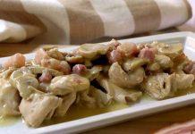 Sauté de poulet aux champignons et vin blanc Thermomix