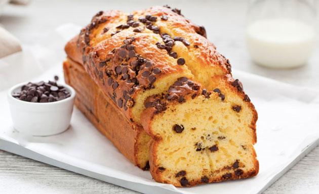 Cake Au Yaourt Et Aux Pepites De Chocolat Avec Thermomix