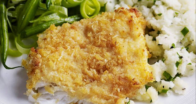 Filet De Poisson Blanc Pane Au Parmesan Ww Plat Et Recette