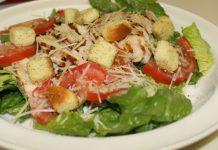 Salade César avec sa sauce légère WW