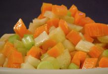 salade variée de crudités WW