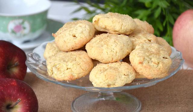 Cookies aux pommes avec Thermomix
