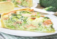 Quiche au saumon frais et au brocoli WW