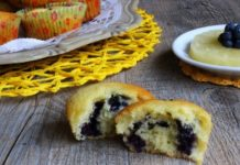 Muffins aux myrtilles et ananas au Thermomix
