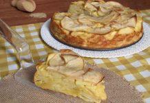 Gâteau invisible aux pommes à 1 SP
